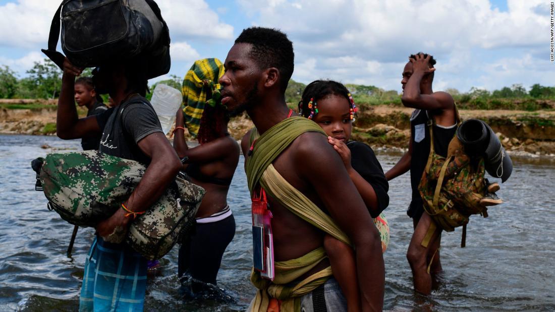 Nearly 19,000 children crossed the dangerous Darien Gap on foot this year