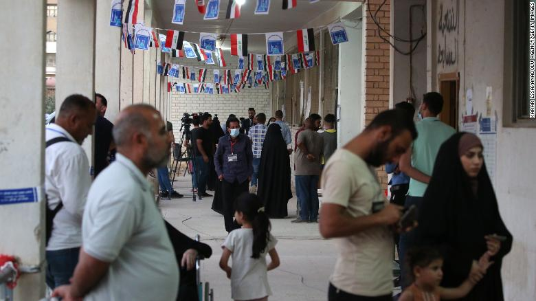 Iraq counts votes after lowest ever election turnout