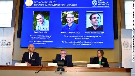 The winners of the 2021 Sveriges Riksbank Prize in Economic Sciences are announced in Stockholm on October 11.