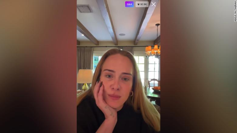 Adele on Instagram Live was everything