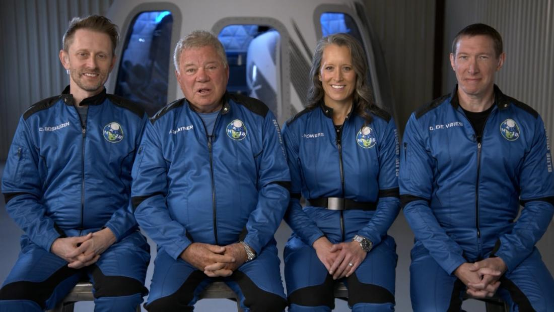 William Shatner is about to be the oldest person ever blasted into space. Here's everything you need to know
