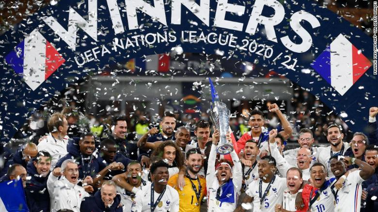 France wins UEFA Nations League as VAR decision leaves Spain frustrated