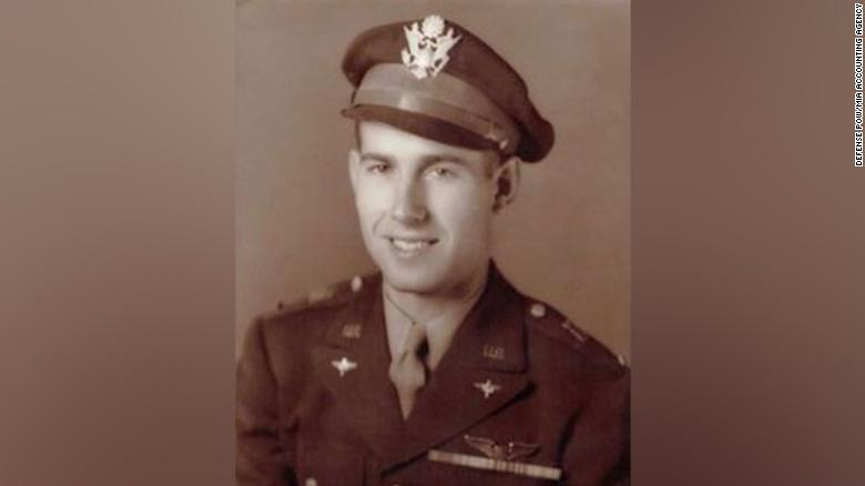A pilot who died in WWII has finally been laid to rest in his Maine hometown