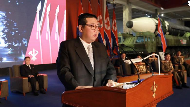 Surrounded by missiles, North Korea's Kim Jong Un blames US for regional instability