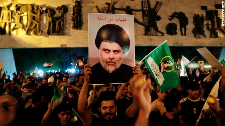 Cleric Sadr wins Iraq vote, former PM Maliki close behind, officials say