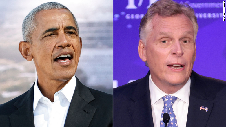 Obama warns Virginia voters they're making 'statement about what direction we're headed in as a country' in new ad for McAuliffe