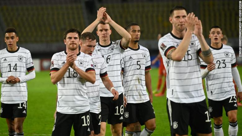 Germany becomes first nation to qualify for 2022 FIFA World Cup after host Qatar