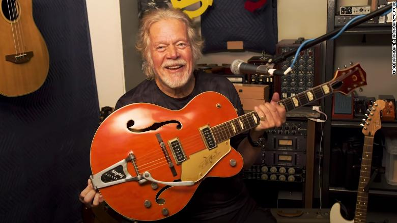 Rock star Randy Bachman's treasured Gretsch guitar was stolen 45 years ago. An internet sleuth helped find it