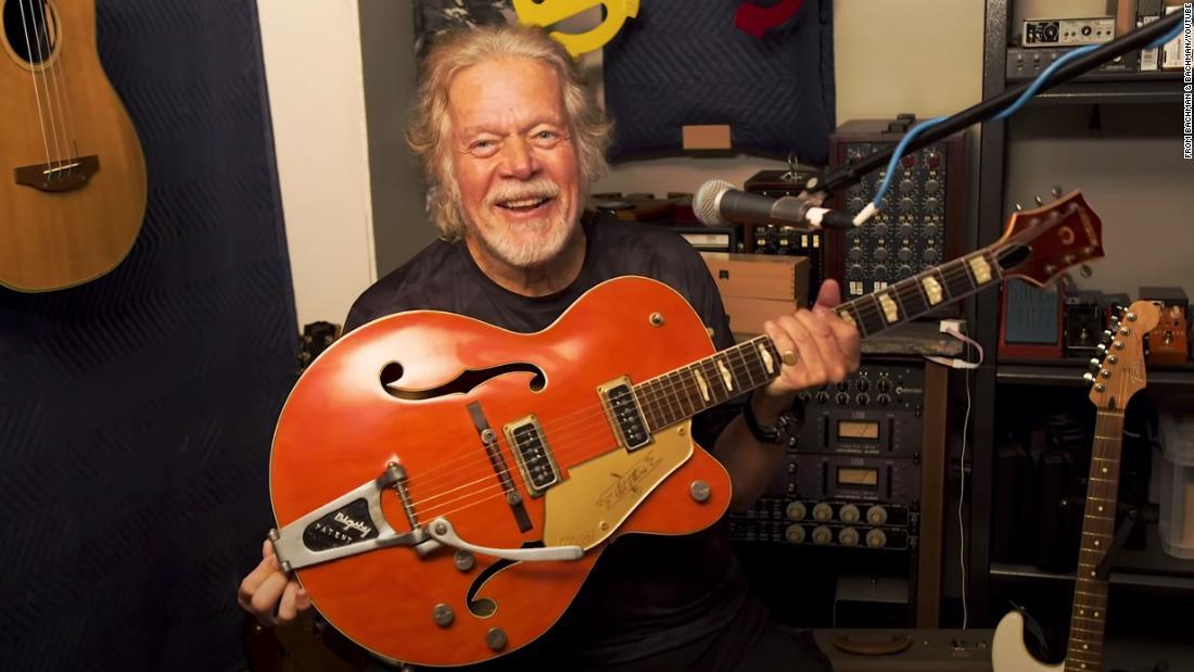 Randy Bachman's treasured Gretsch guitar was stolen 45 years ago. An internet sleuth helped find it