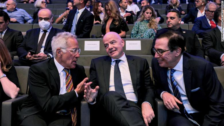 FIFA president floats Israel as possible World Cup 2030 co-hosts