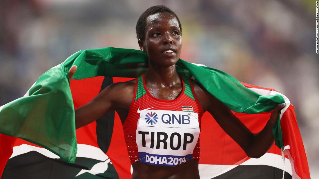 Police arrest Kenyan Olympic runner's husband in connection with her stabbing death