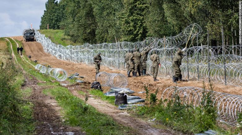 Poland plans to spend over $400 million on wall on Belarus border