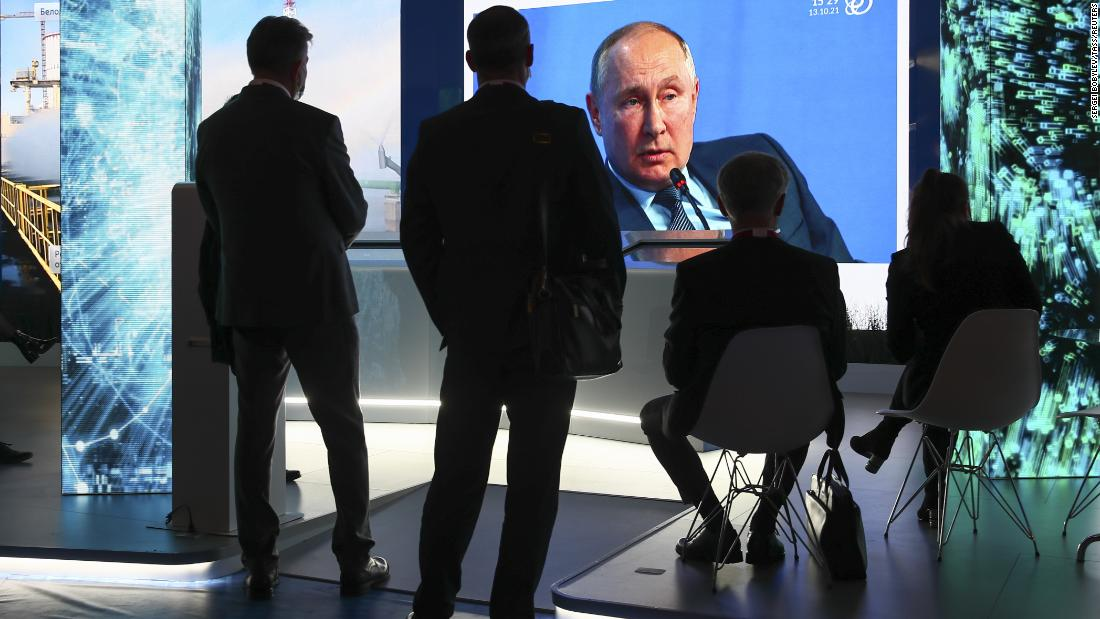 Putin says Russia is not using energy as a weapon