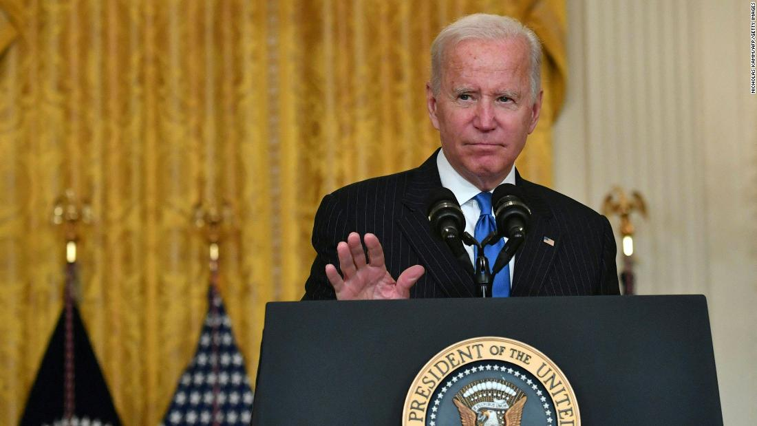Biden to update public on national vaccination program and pandemic response