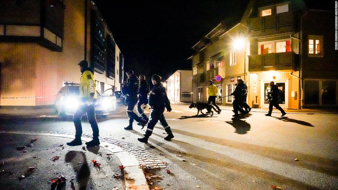 Multiple people killed in suspected bow and arrow attack in Norway