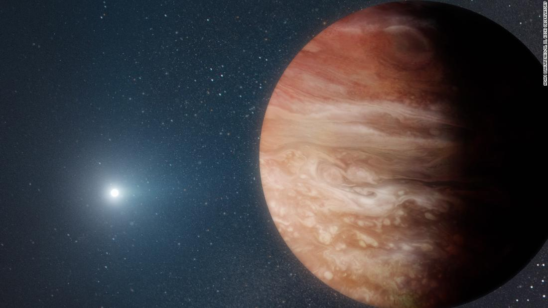Giant planet found orbiting a dead star shows what may happen when our sun dies – CNN