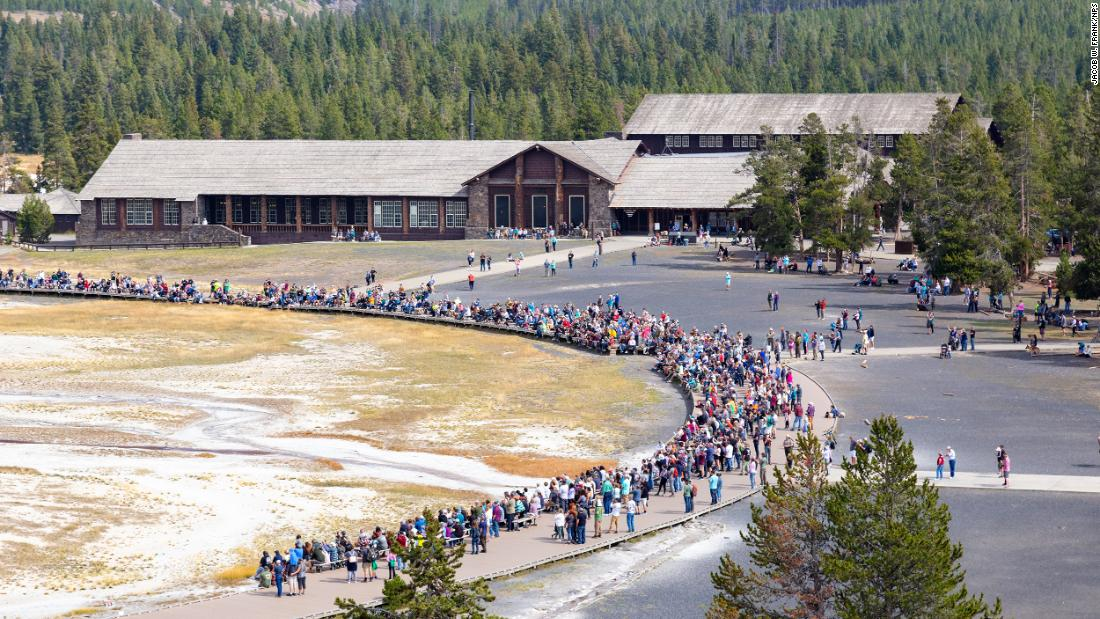 The crowds keep coming -- Yellowstone sets September and year-to-date attendance records