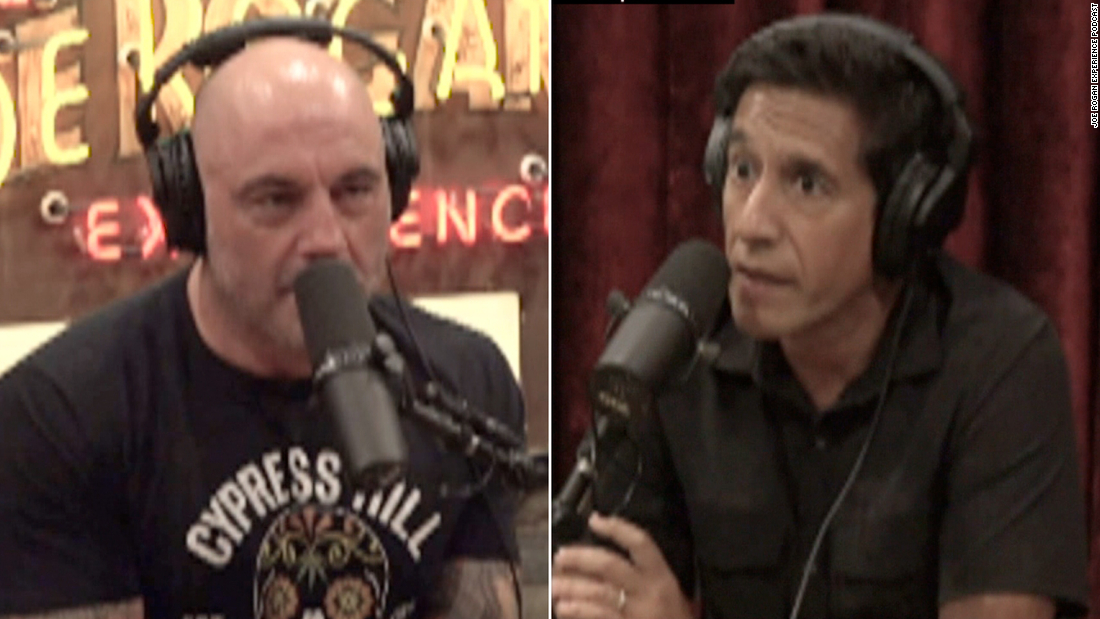 Dr. Gupta tries to convince Joe Rogan to get vaccinated
