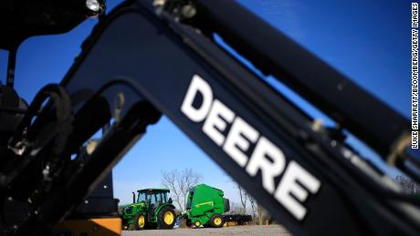 John Deere workers go on strike after rejecting wage deal