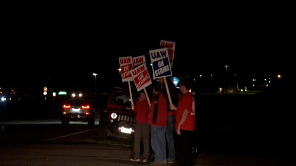 Image for John Deere workers go on strike