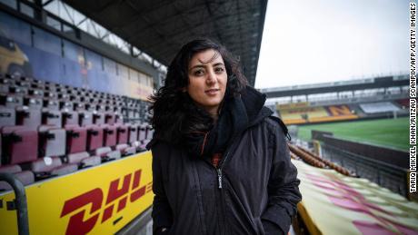 Former Afghanistan women's football captain Khalida Popal.