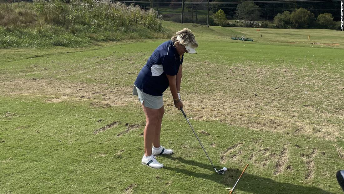 Meet the 63-year-old college athlete with a killer golf swing