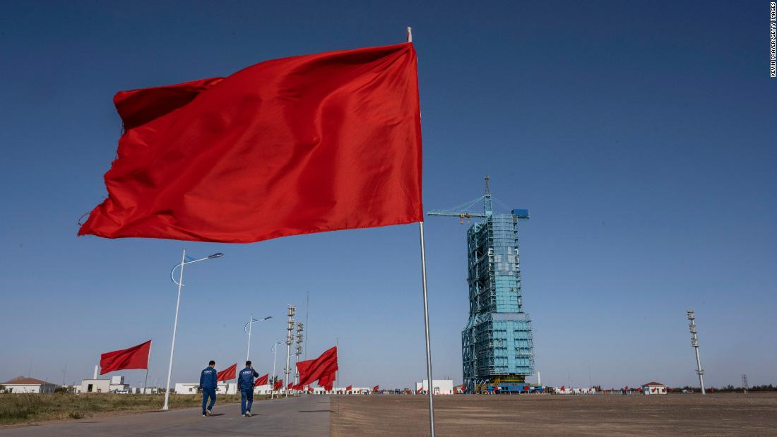 China's historic mission arrives at new space station