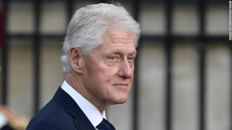 President Clinton is expected to be discharged Sunday, spokesperson says