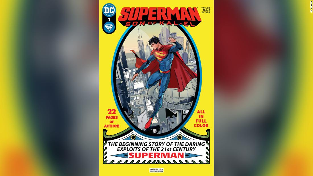 Superman's motto gets a modern update: 'Truth, Justice and a Better Tomorrow'