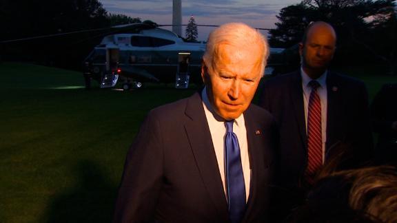 Image for Biden says DOJ should prosecute those who defy January 6 committee subpoenas