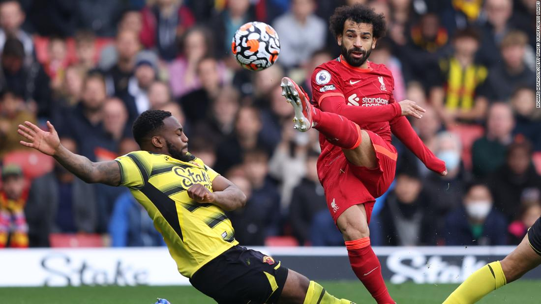 Mo Salah scores second wonder goal in as many Premier League games