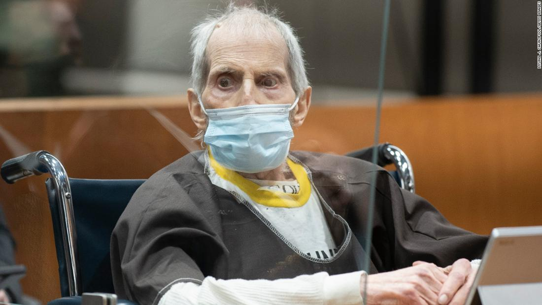Robert Durst is on a ventilator with Covid-19 days after being sentenced to life in prison
