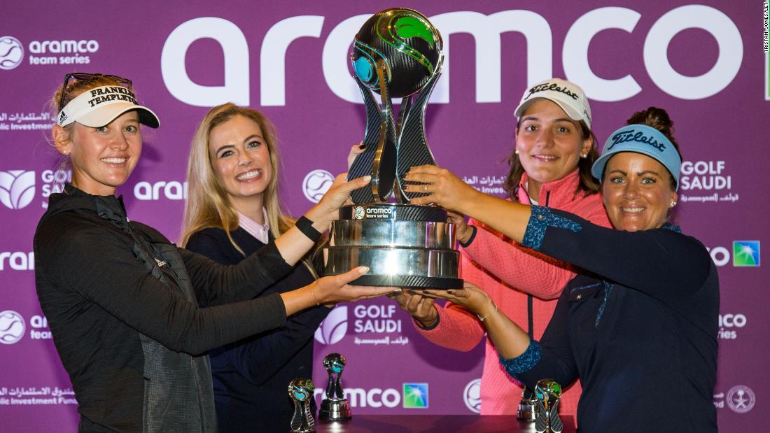 Ladies European golf makes debut foray into US