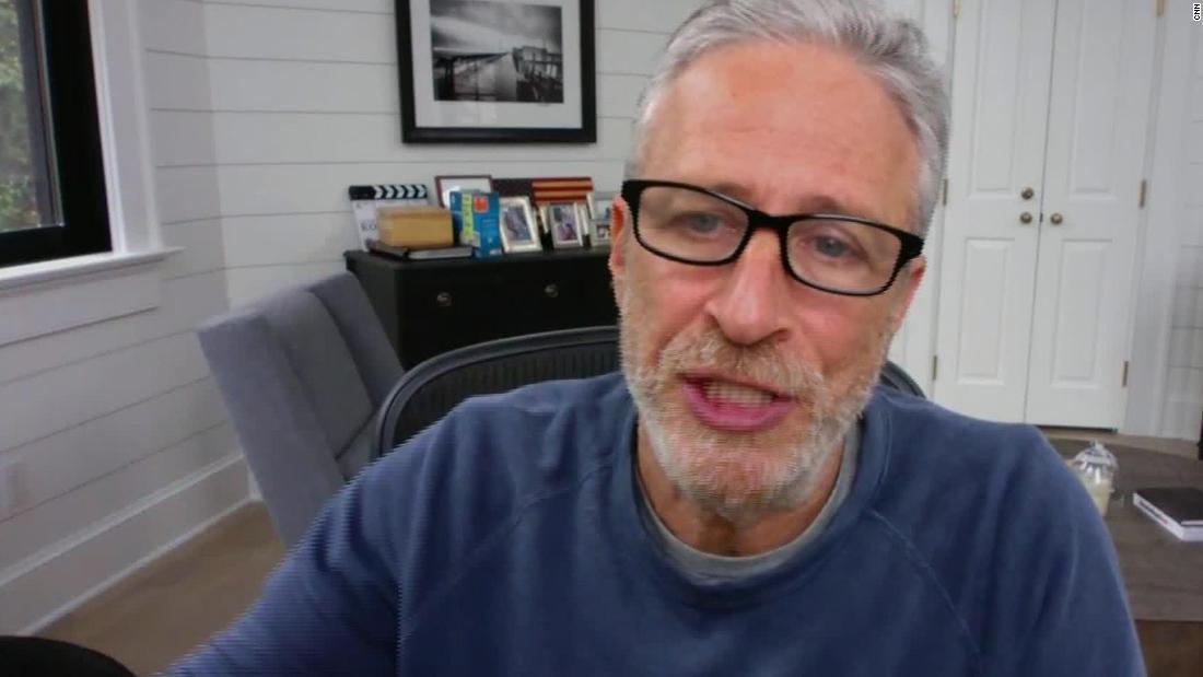 Jon Stewart: Americans 'still have time' to preserve democracy