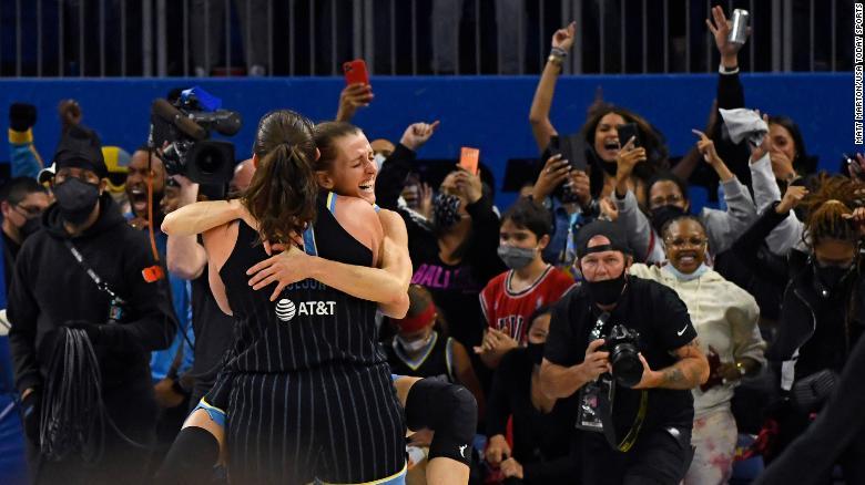 Chicago Sky defeat Phoenix Mercury for first WNBA championship win