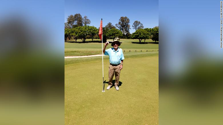 Australian golfer makes hole-in-one just shy of 100th birthday