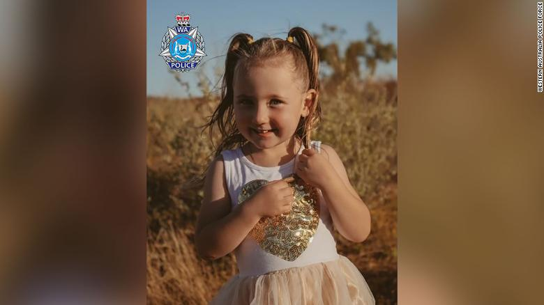 Australian police search for 4-year-old girl missing from tent on camping trip