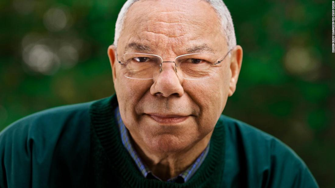 Colin Powell, military leader and first Black US secretary of state, dies