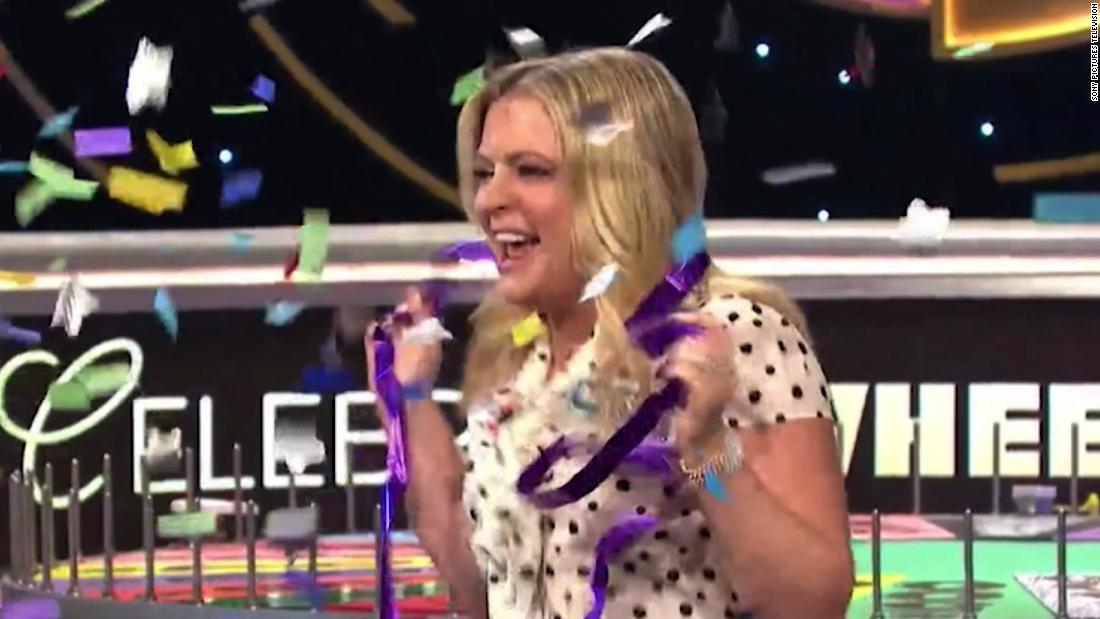 Actress rakes in record $1 million prize on 'Wheel of Fortune'