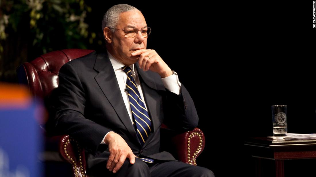Hear one of General Colin Powell's last interviews