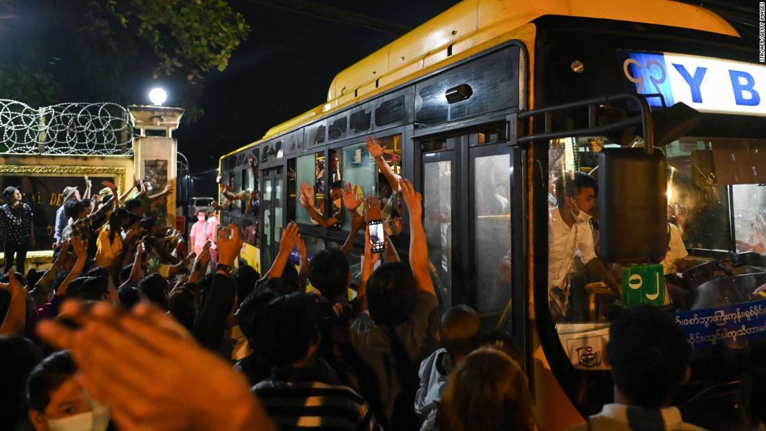 Myanmar to release 5,600 prisoners held for anti-junta protests