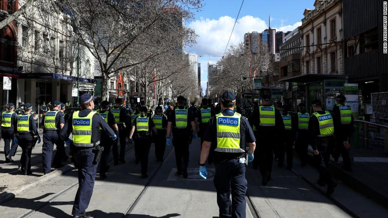Australian state could fire more than 40 police staff for refusing a Covid-19 vaccine