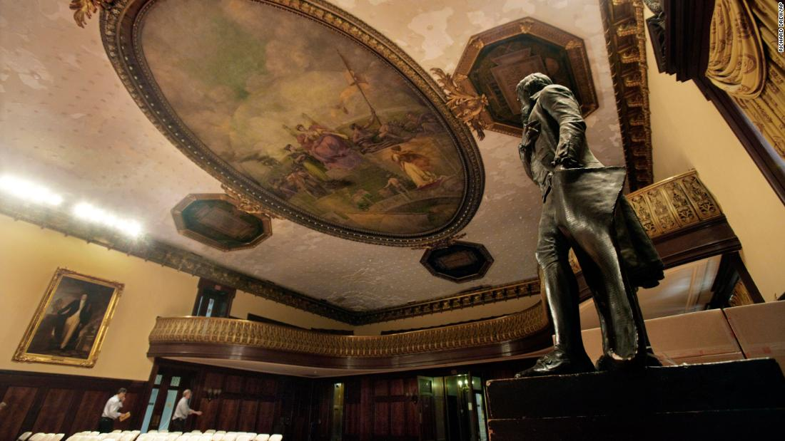 NYC to remove Thomas Jefferson statue from legislative chamber