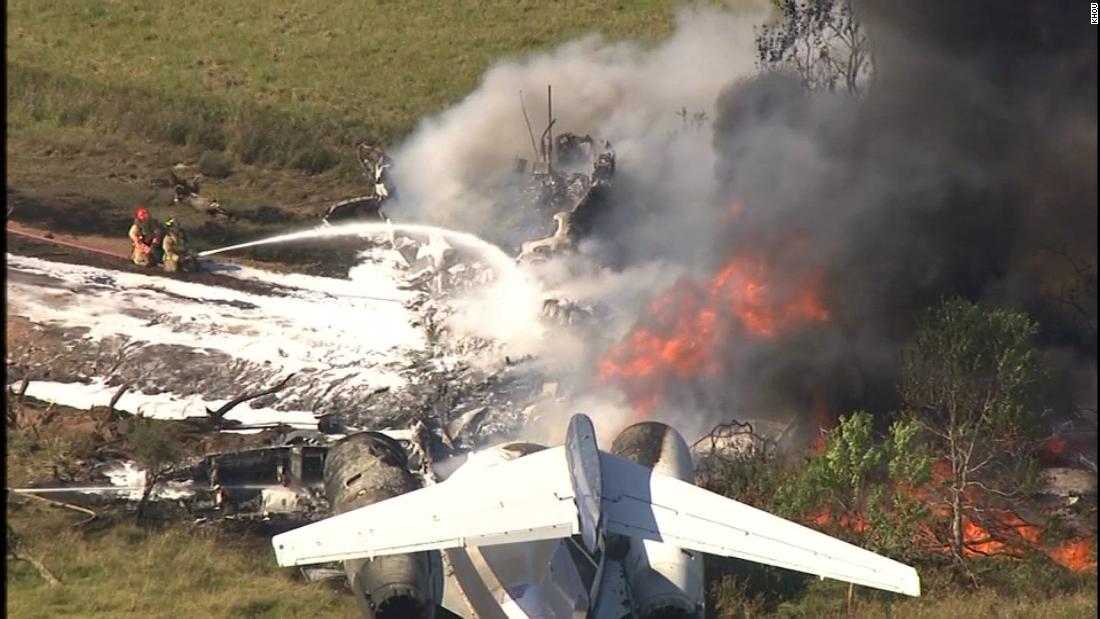 How a plane crashed with more than 20 people on board and everyone survived
