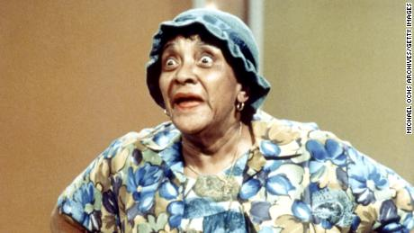 Jackie Moms Mabley was a comic pioneer on stage and an open backstage lesbian.  Friends say she didn't try to hide her identity.