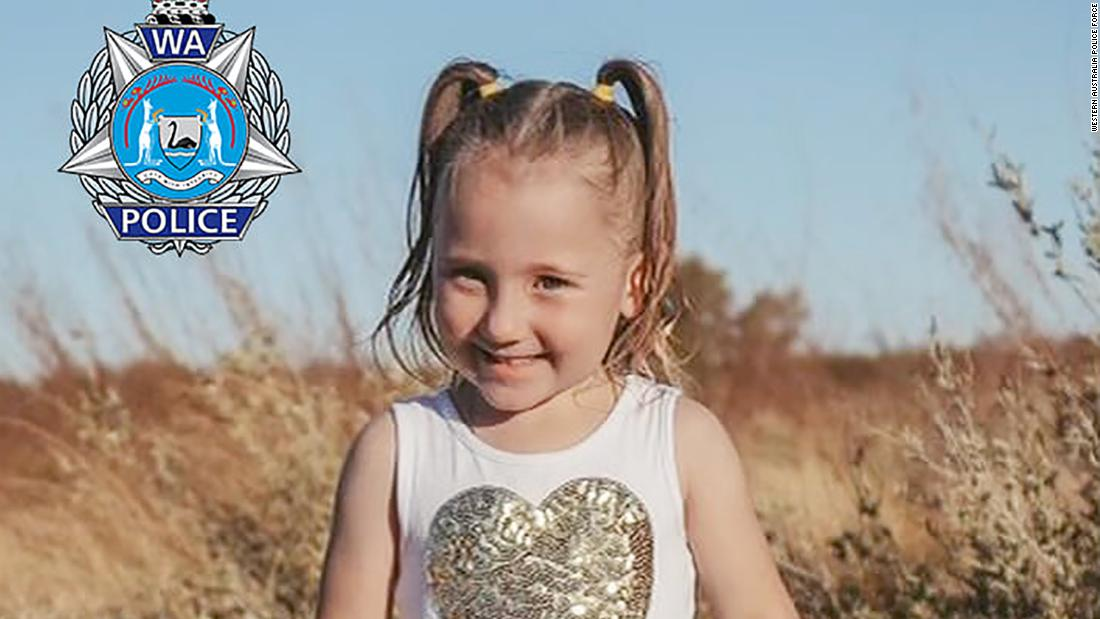 Australian police offer A$1 million reward for missing 4-year-old