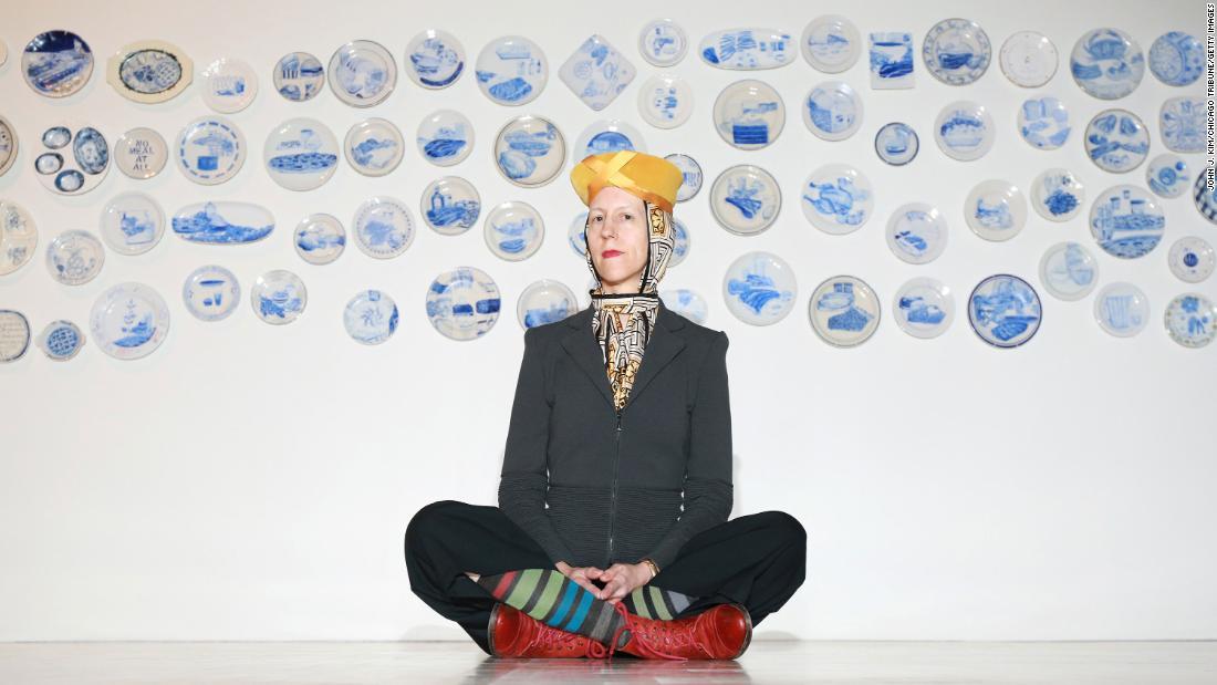 Julie Green, artist who painted prisoners' last meals, dies aged 60