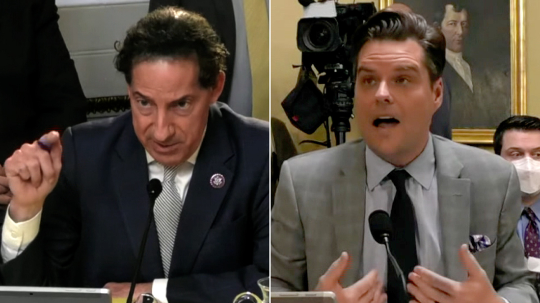Raskin scolds Gaetz after grilling him on Trump's election lies