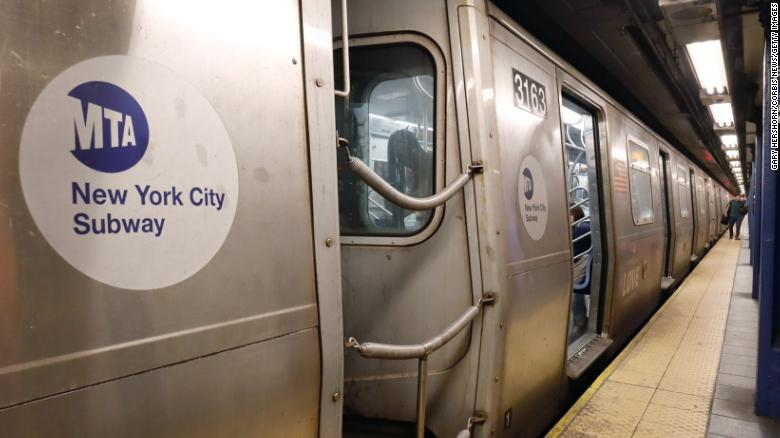 NYC mayor 'troubled' by video showing unmasked officers forcibly removing masked subway commuter