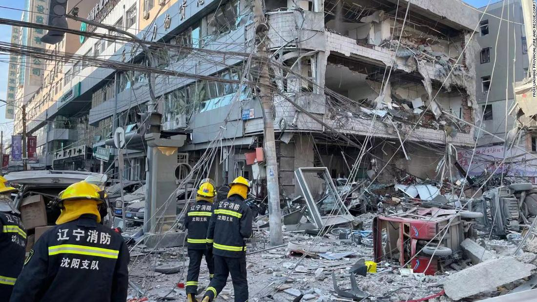 At least 3 killed, more than 30 injured in gas explosion in northeast China
